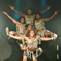 מופעים לילדים - הקרקס האפריקאי